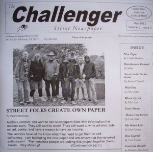 Street Folks Create Own Paper