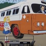 new Leslie mural